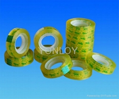 Easy-Tear and Plastic-Core Stationery Tape for School and Office Use
