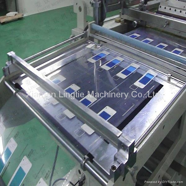Automatic membrane switches screen printing machine with best quality 3