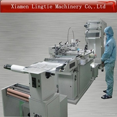Automatic heat transfer paper film screen printing machine with high precision