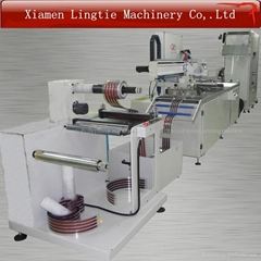 Automatic roll to roll Flexible Printed Circuit EL panel screen printing machine