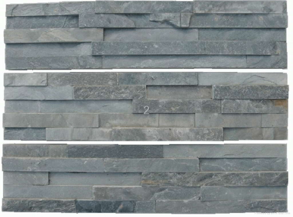 Natural Cultured Stone--Green Color 1