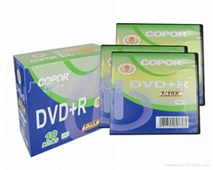 Blank DVD disc 4.7GB 16X