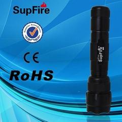 強光手電筒M5(橘皮燈杯,Q5光源,體積小,亮度高)