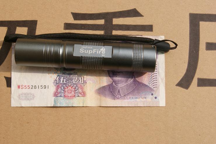 2013新款強光手電筒SupFire-S5 2