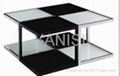 hot seller glass coffee table