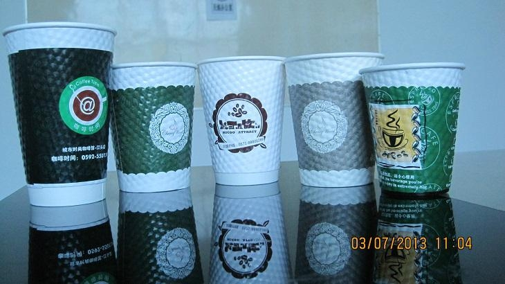 8-16oz double wall paper cup 4