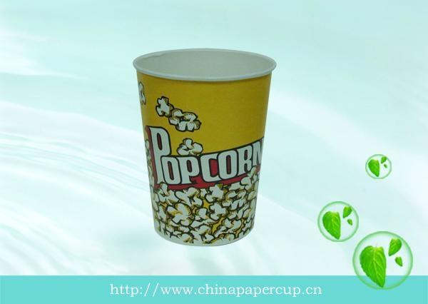disposable paper popcorn bucket, paper fried chicken bucket 5