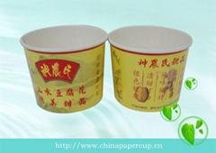 hot soup bowl noodle paper bowl