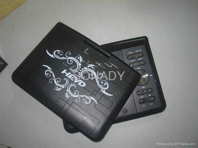 7寸移動電視EVD全功能帶TV便攜式DVD影碟機 3