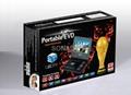 7寸移動電視EVD全功能帶TV便攜式DVD影碟機 5