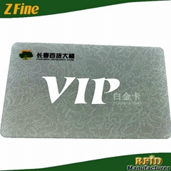 13.56mhz classic rfid smart contactless vip card