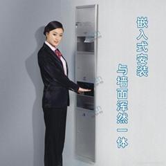 青島賓館酒店專用福伊特不鏽鋼組合櫃HS-8512A