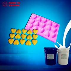 Platinum cure silicone rubber for food mold making
