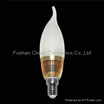 E14 LED Candle Bulb with 3W Power 1