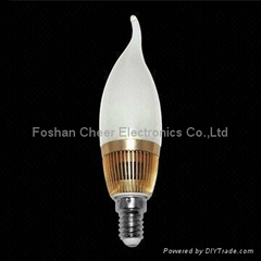 E14 LED Candle Bulb with 3W Power