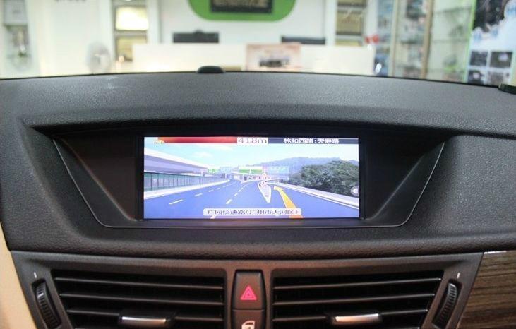 寶馬X1加裝導航,寶馬X1改觸摸導航,寶馬X1加GPS 1