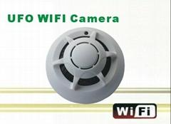 P2P烟感式网络远程监控摄像机