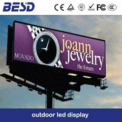 Outdoor electronics advertising led display screen