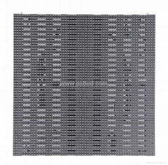 P8.928mm Outdoor Curved+ Flat Curtain Mesh LED Display
