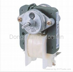 home appliance shade pole motor