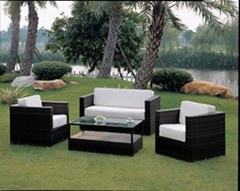 KD knock down 4pcs rattan sofa set