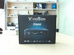 vivo box s926 azclass azbox nagra 3 tocomsat twin tuner FTA internet receiver
