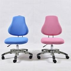 Hardwood & Fabric Swivel Chair for Student & Office (B100)