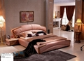Luxury Leather Soft bed A2006 3