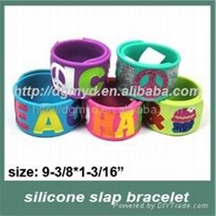 most popular slap silicone bracelets