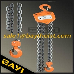 manual hoists for tools market chain block