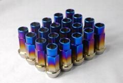 Titanium alloy 50MM Burning Blue