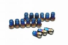 Titanium alloy 35MM Close-ended Blue Gradient