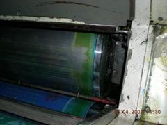 印刷机滚筒