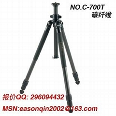 Chinese origin Carbon Fiber Tripod No.C-700T