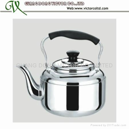 Stainless steel whistling kettle   1