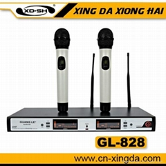 GL-828 professional wireless microphone UHF