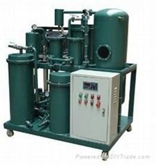 Multi- function vacuum lubricating oil purification machine