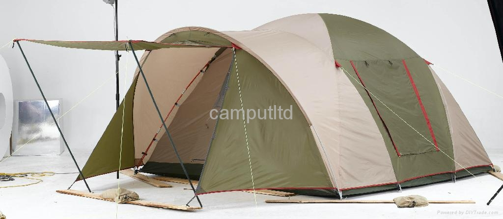 Camping tent with Front Porch 1