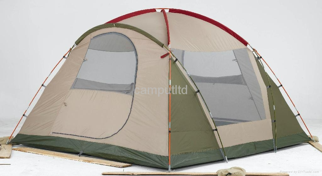 Camping tent with Front Porch 2