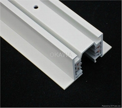 Recessed track system