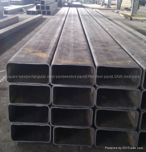 Low alloy rectangular tubes 1