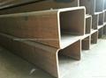 Low alloy rectangular tubes 2