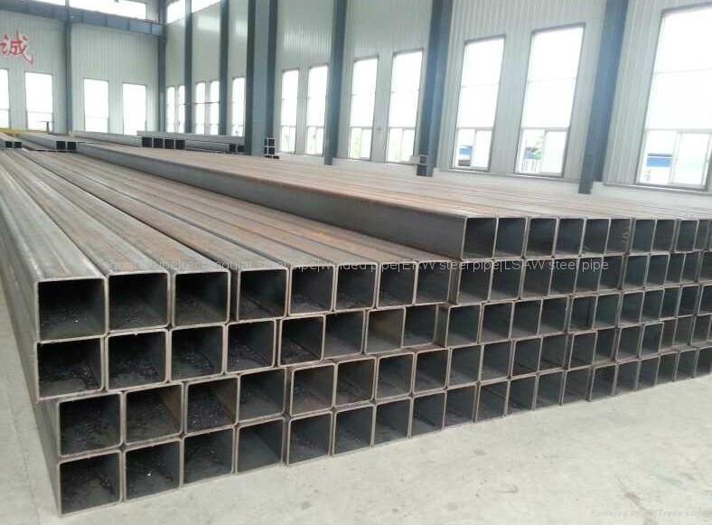 Low alloy rectangular tubes 4