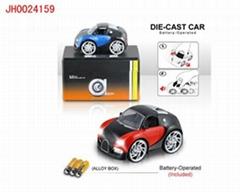 B/O DIE-CAST CAR