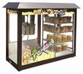 Popcorn Machine With Warming Show case