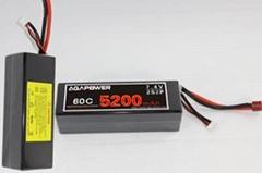 60C Car lipo battery