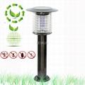 hot sale high effeciency solar mosquito killer lawn light  1