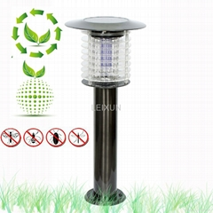 hot sale high effeciency solar mosquito killer lawn light