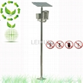 stainless solar orchard insect killer