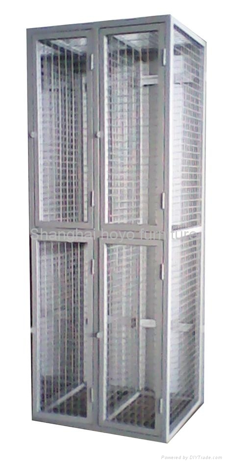 Wire Mesh Storage Locker 1